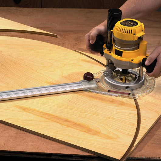 buy router arc circle cutting kit online at rutlands co uk