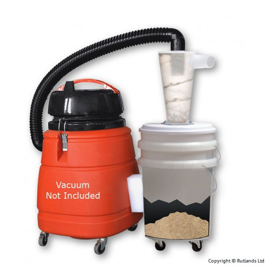 Buy Oneida Dust Deputy Deluxe Kit with Two Drums online at Rutlands