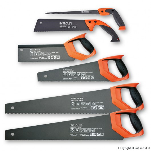 Buy Japanese Pattern Fast-Cut Hand Saws - Set of 6 online at