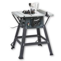 Table Saw with Extension Table and Stand