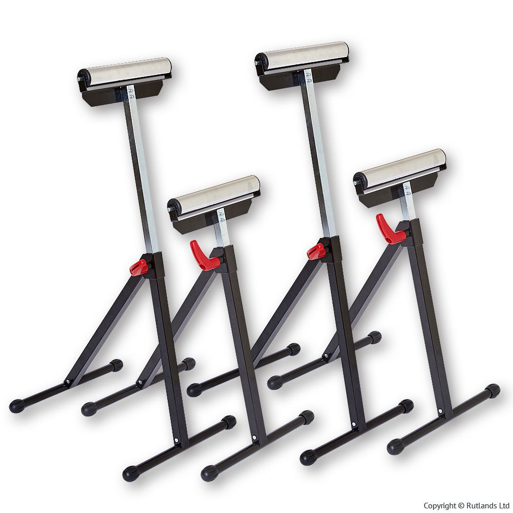Heavy duty roller stand pack of 4 ebay for Stand pack
