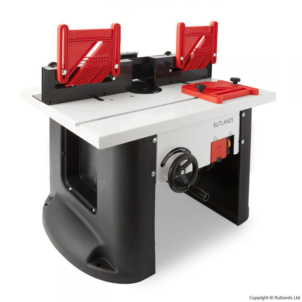 Powered Router Table with Height Adjustment | eBay